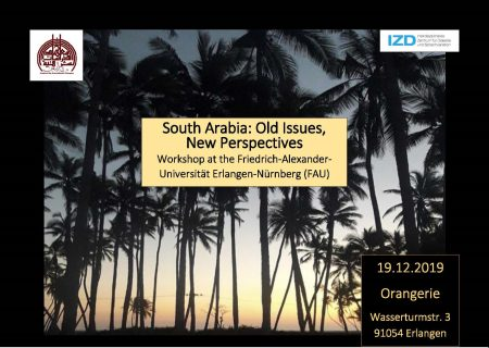"Zum Artikel ""South Arabia: Old Issues, New Perspectives"""